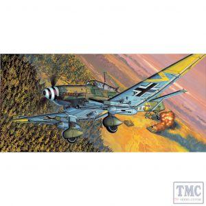 PKAY12404 Academy 1:72 Scale Junkers Ju-87G-2 Stuka