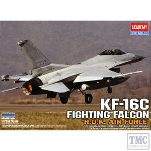 PKAY12418 Academy 1:72 Scale KF-16C Fighting Falcon Korean Air Force