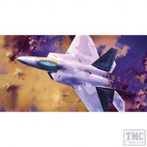 PKAY12423 Academy 1:72 Scale F-22A Raptor