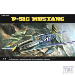 PKAY12441 Academy 1:72 Scale P-51C Mustang