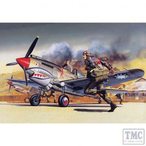 PKAY12456 Academy 1:72 Scale Curtiss P-40B Tomahawk