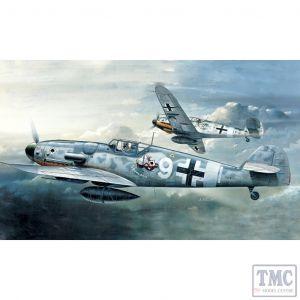 PKAY12467 Academy 1:72 Scale Me Bf 109G