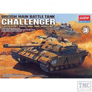 PKAY13007 Academy 1:48 Scale Challenger British Main Battle Tank