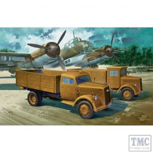PKAY13404 Academy 1:72 Scale WWII German Cargo Truck