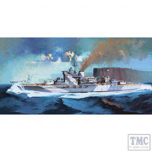 PKAY14105 Academy 1:350 Scale HMS 'Warspite' Queen Elizabeth Class Battleship 1943