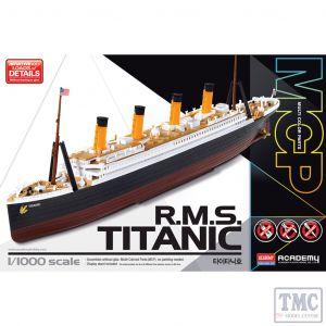 PKAY14217 Academy 1:1000 Scale R.M.S. Titanic
