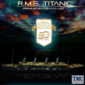 PKAY14226 Academy 1:400 Scale R.M.S. Titanic Premium with LED (Academy 50th Anniversary)