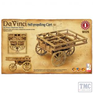 PKAY18129 Academy  Da Vinci Self-Propelling Cart