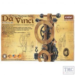 PKAY18150 Academy  Da Vinci Clock