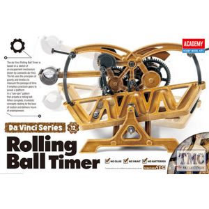 PKAY18174 Academy  Da Vinci Rolling Ball Timer
