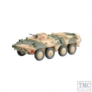 PKEA35018 Easy Model 1:72 Scale BTR-80 Russian Army Battle Situation, 1994