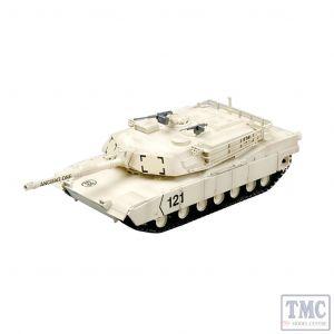 PKEA35030 Easy Model 1:72 Scale M1A1 Abrams Kuwait 1991