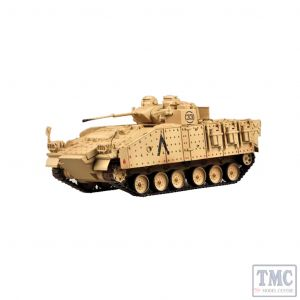 PKEA35035 Easy Model 1:72 Scale Warrior MCV 80 1st Bn, Staff'shire Regt 7th Armour