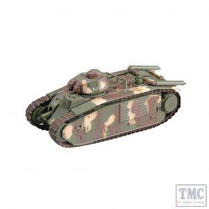 PKEA36160 Easy Model 1:72 Scale Char B1 2002 Saumur Tank Museum, France