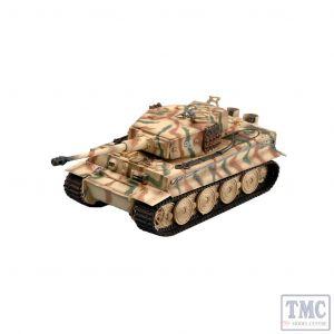 PKEA36218 Easy Model 1:72 Scale Tiger 1 Late Type, Totenkopf 1944