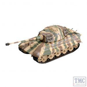 PKEA36295 Easy Model 1:72 Scale Tiger II (H) s.SS.Pz. Abt. 505 Tank 212
