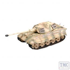 PKEA36297 Easy Model 1:72 Scale Tiger II (P) 1./s.Pz. Kp. Tank 12