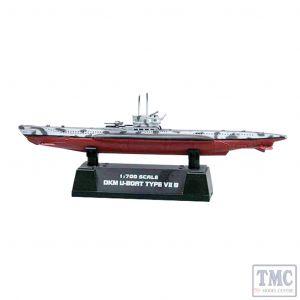 PKEA37312 Easy Model 1:700 Scale Type U-7B