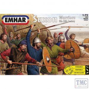PKEM7206 Emhar 1:72 Scale Saxon Warriors 9th-10th Century