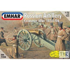 PKEM7208 Emhar 1:72 Scale Russian Artillery Crimean War 1854-56