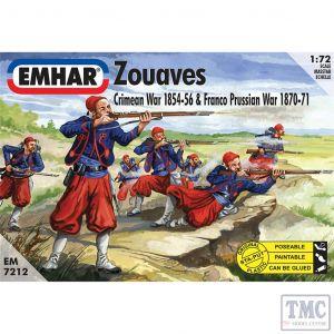 PKEM7212 Emhar 1:72 Scale Zouaves