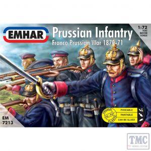 PKEM7213 Emhar 1:72 Scale Prussian Infantry