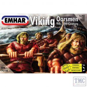PKEM7218 Emhar 1:72 Scale Viking Oarsmen