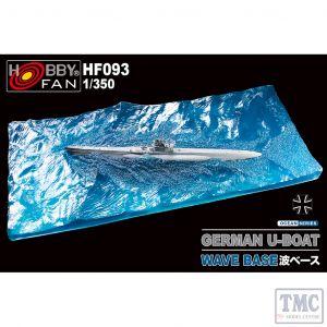 PKHF093 AFV Club 1:350 Scale German U-Boat Wave Base