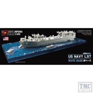 PKHF094 AFV Club 1:350 Scale US Navy LST Wave Base