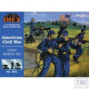 PKIM501 Imex 1:72 Scale Union Artillery