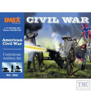 PKIM502 Imex 1:72 Scale Confederate Artillery