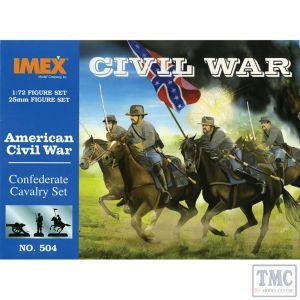 PKIM504 Imex 1:72 Scale Confederate Cavalry