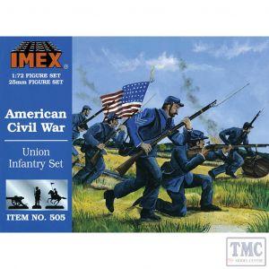 PKIM505 Imex 1:72 Scale Union Infantry