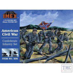 PKIM506 Imex 1:72 Scale Confederate Infantry