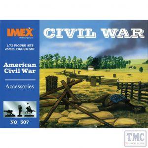 PKIM507 Imex 1:72 Scale Civil War Accessories