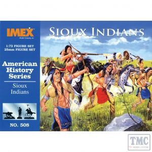 PKIM508 Imex 1:72 Scale Sioux Indians