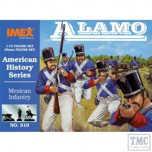 PKIM510 Imex 1:72 Scale Mexican Infantry at Alamo