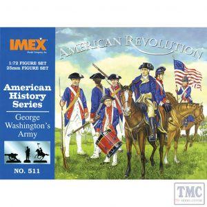 PKIM511 Imex 1:72 Scale George Washington's Army