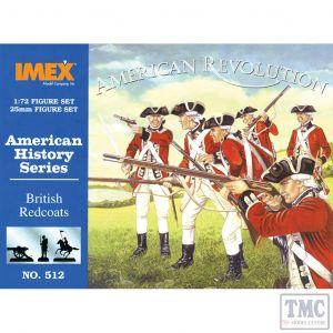 PKIM512 Imex 1:72 Scale British Redcoats