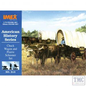 PKIM513 Imex 1:72 Scale Chuck Wagon & Prairie Schooner