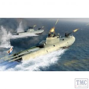 PKLK63503 I Love Kits 1:35 Scale Soviet Navy G-5 Motor Torpedo Boat (kit)