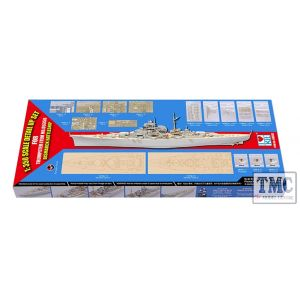 PKLK66601 I Love Kits 1:350 Scale Bismarck 1941 1:35 Scale0 scale Detail-up Set