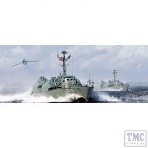 PKMM67203 Merit 1:72 Scale Type 21 PLA Navy Missile Boat (kit)