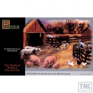 PKPG7006 Pegasus 1:48 Scale Mission Animals