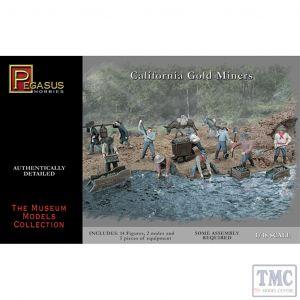 PKPG7007 Pegasus 1:48 Scale California Gold Miners
