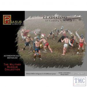 PKPG7100 Pegasus 1:72 Scale Gladiators