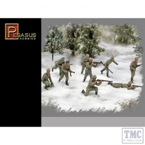 PKPG7269 Pegasus 1:72 Scale Russian Infantry Winter
