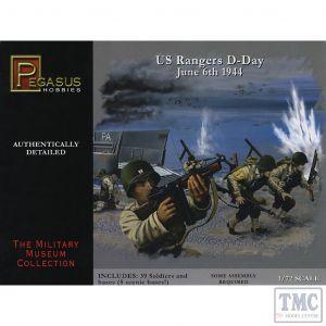 PKPG7351 Pegasus 1:72 Scale D-Day US Rangers