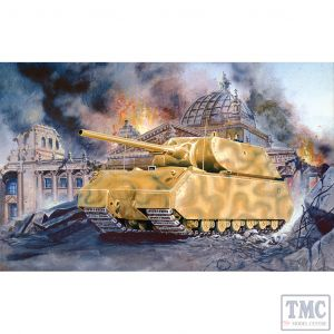 PKPG7501 Pegasus 1:72 Scale Maus Super Heavy German WW2 Tank