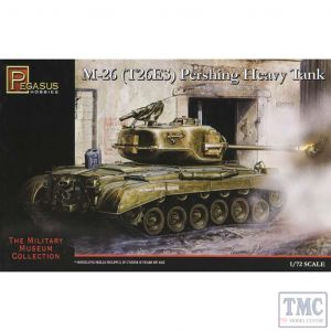 PKPG7505 Pegasus 1:72 Scale M26 (T26E3) Pershing Heavy Tank
